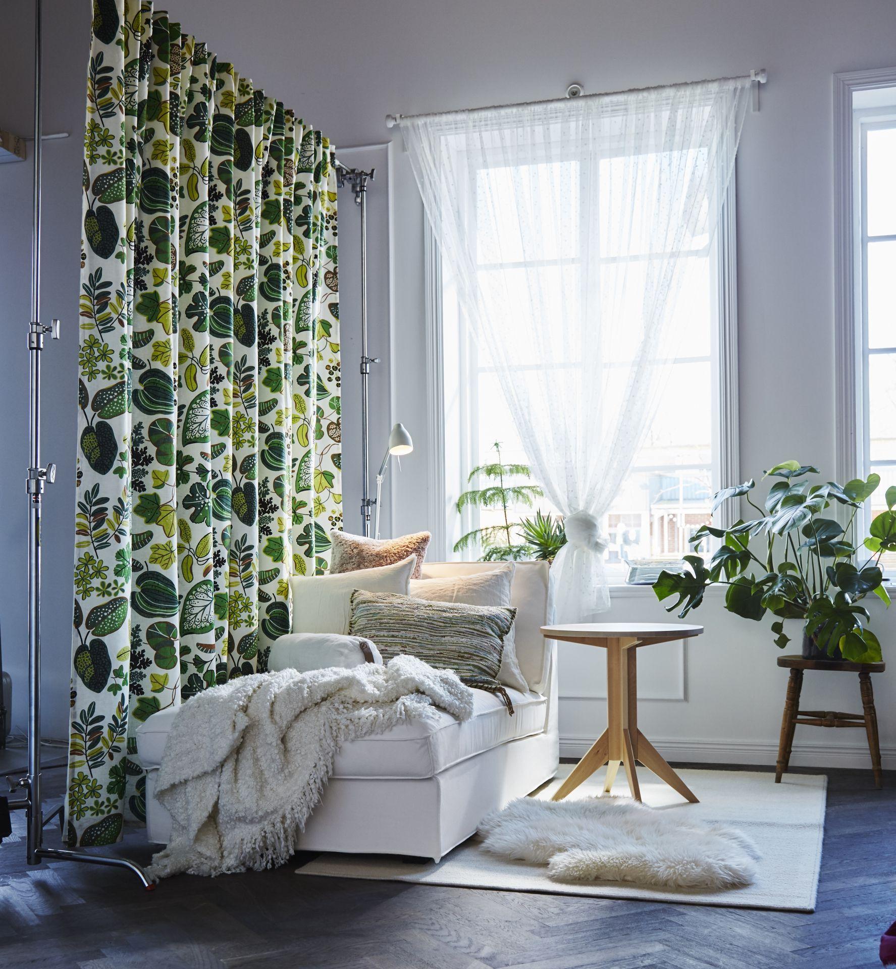 SYSSAN gordijnen  IKEA IKEAnl inspiratie woonkamer