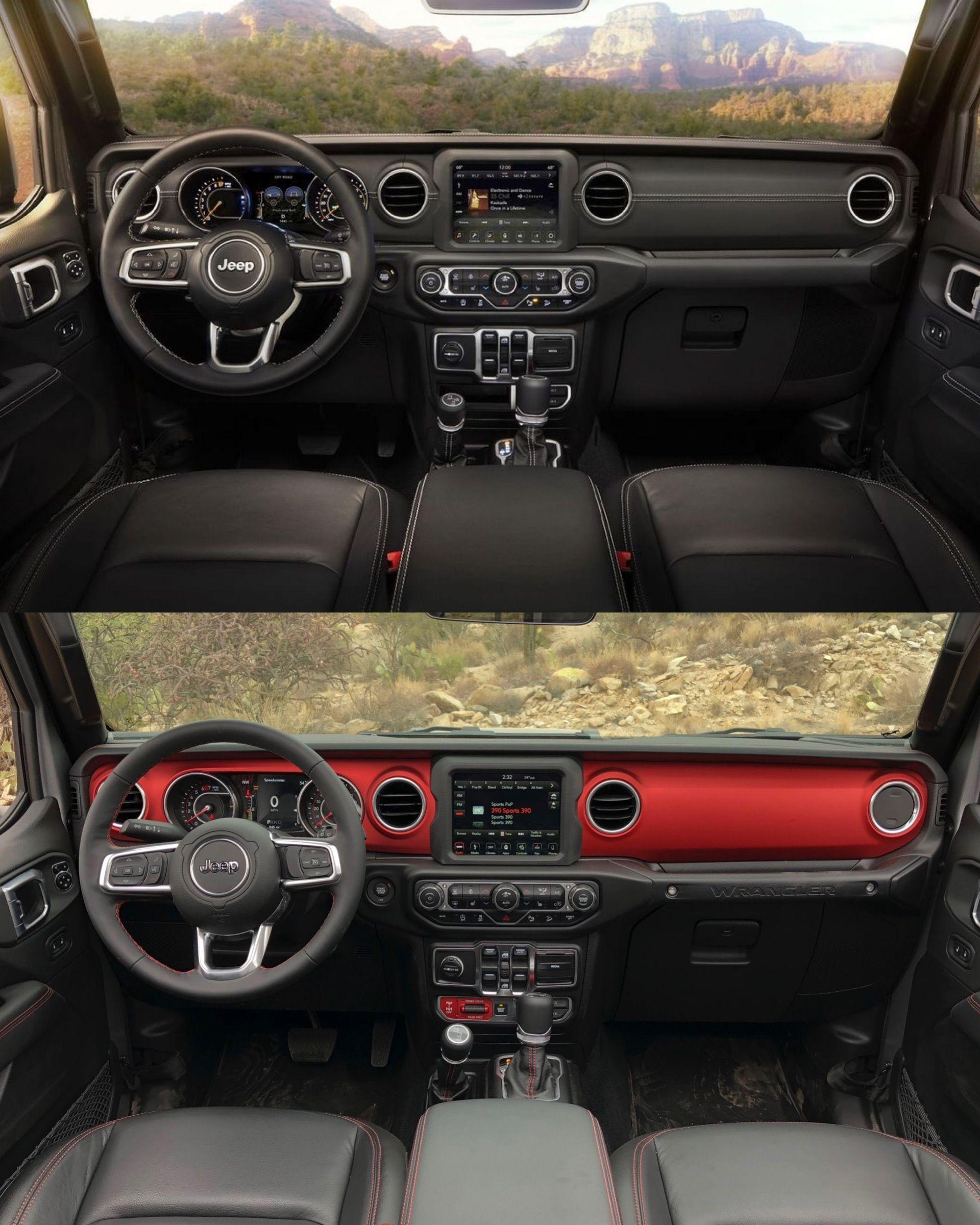 2018 Jeep Wrangler Jl Interior Dash Sahara Rubicon Jeep Wrangler Jeep Wrangler Renegade Wrangler Jl