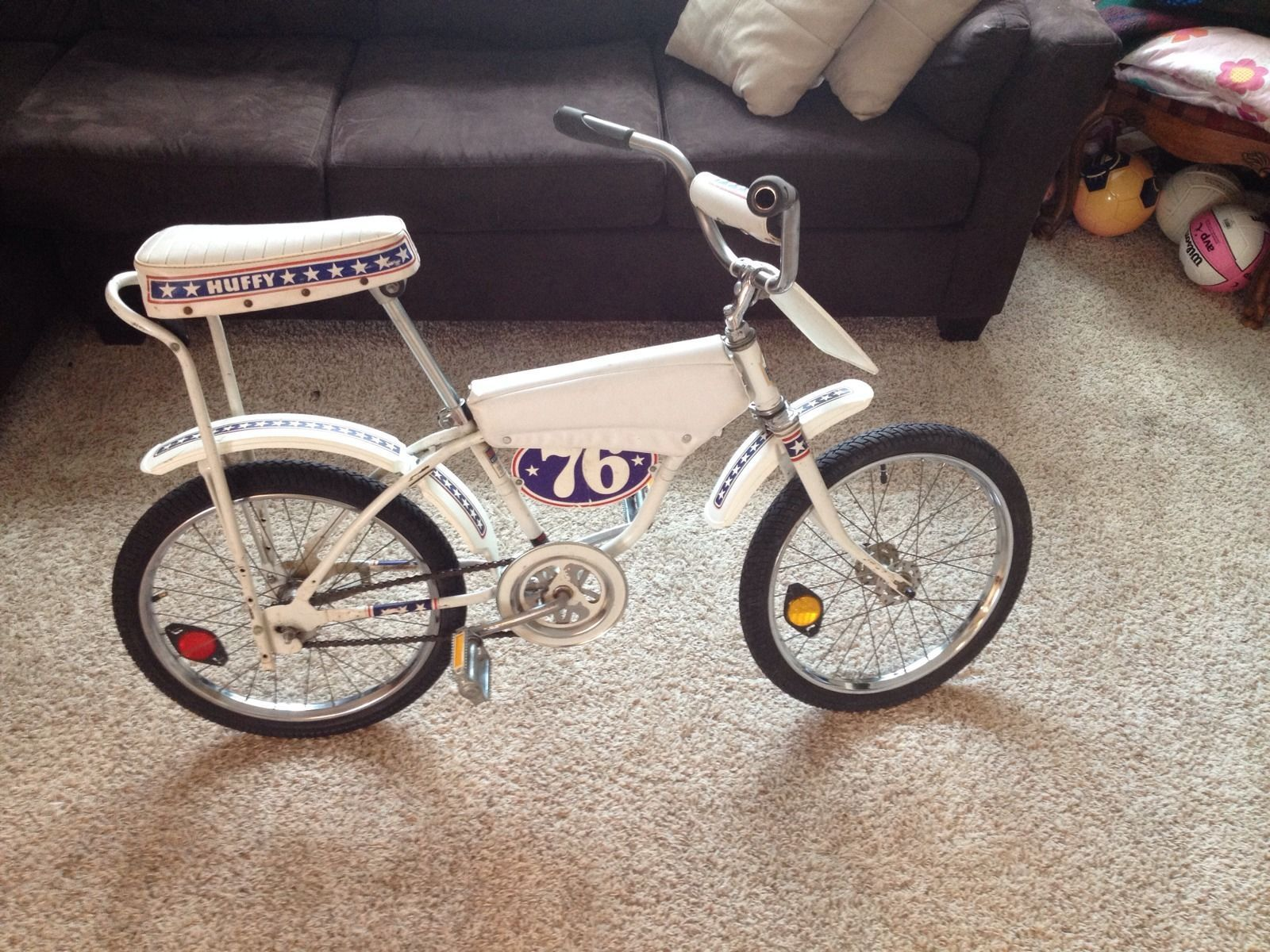 Famous Evel Knievel Bike At Auction: Old School Vintage 1976 Huffy Thunder Star Bike BMX Evel