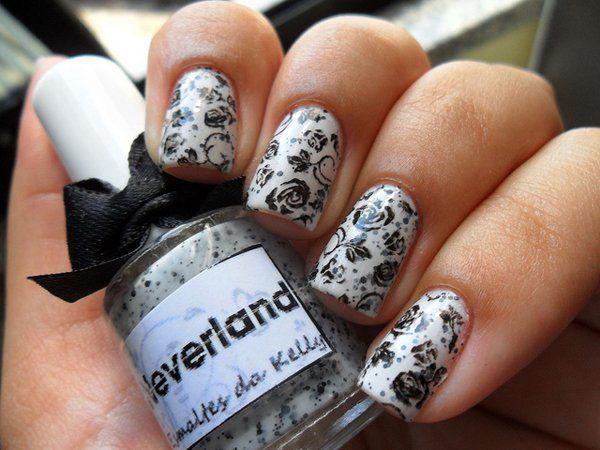 40 Examples Of Elegant Nail Art Pinterest Elegant Nail Art Art