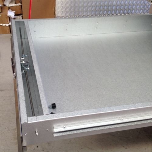 Under Tray Tool Box Trundle Drawer 1500mm Ute Drawer