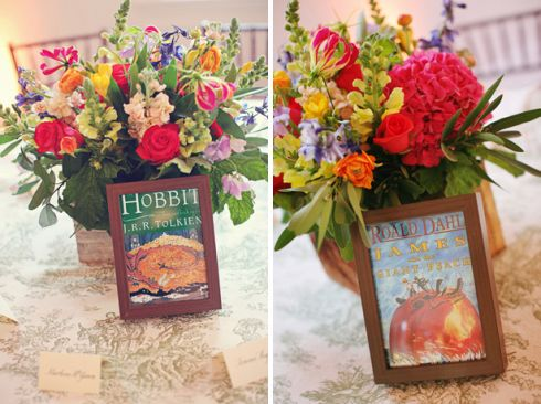 book cover table numbers