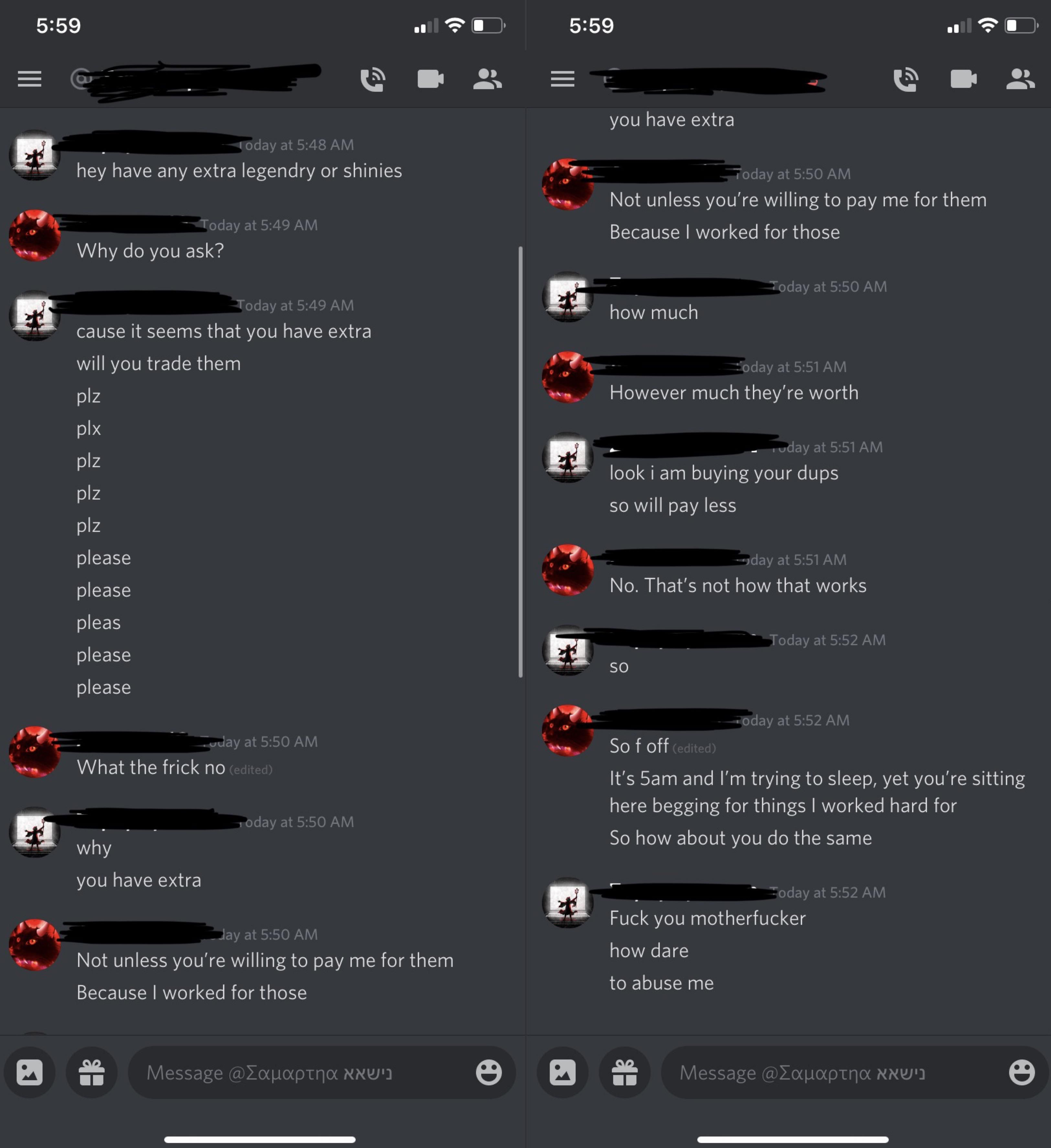 On A Discord Pokemon Bot Some Kid Decided It Was A Great Idea To Spam Me At 5am While Im Trying To Sleep About Funny Twitter Posts Funny Memes Trying