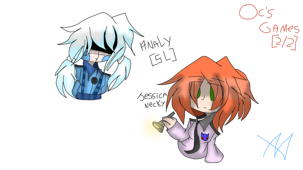 Analy From Sister Location She is half human and robot It