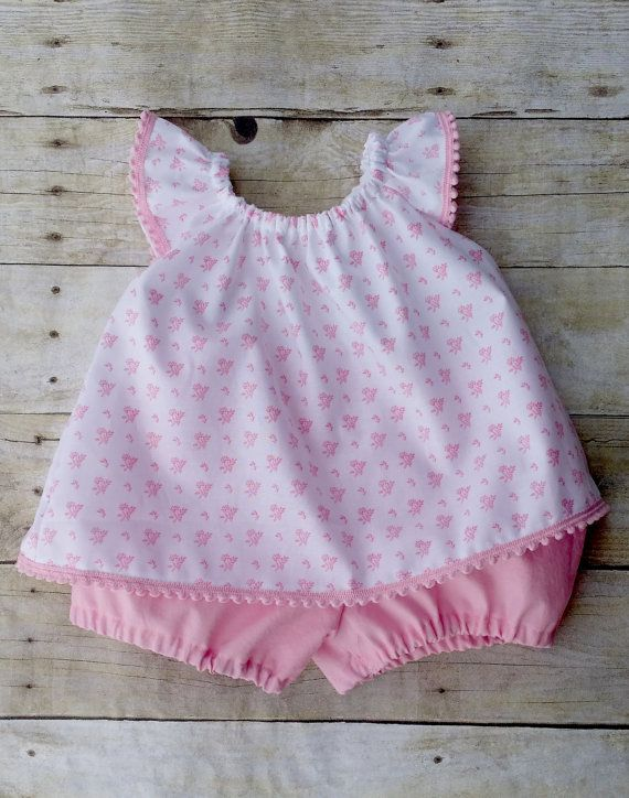 Baby Girls Pink Birthday Outfit