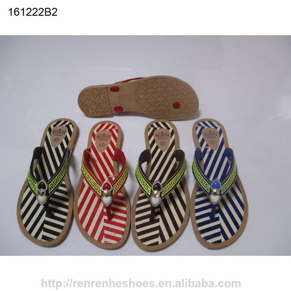 1dc6be670 2017 new design cheap pcu ladies slipper pcu lady sandals flip flops ...