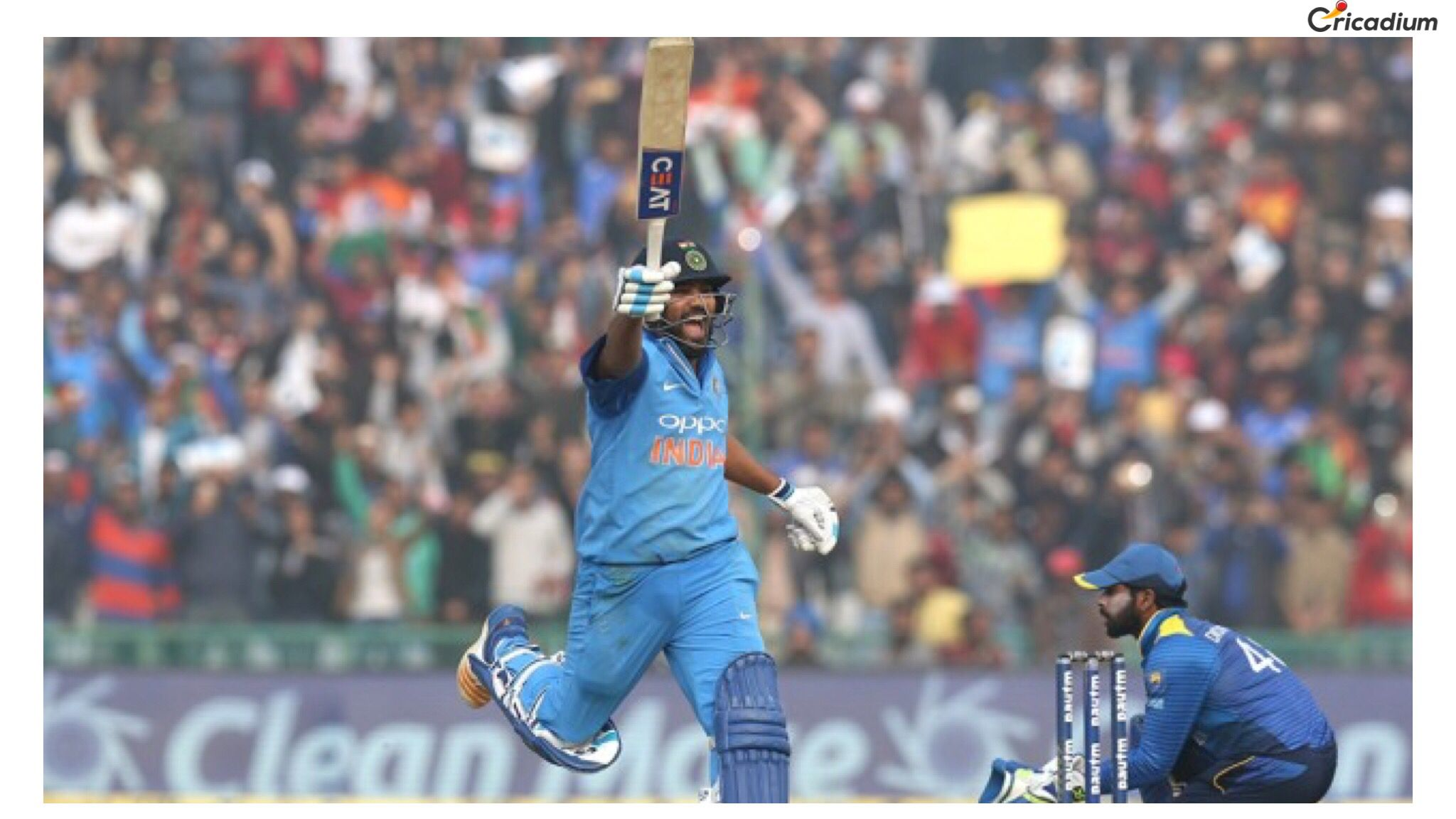 onthisday Hitman Rohit Sharma scored the highest ever