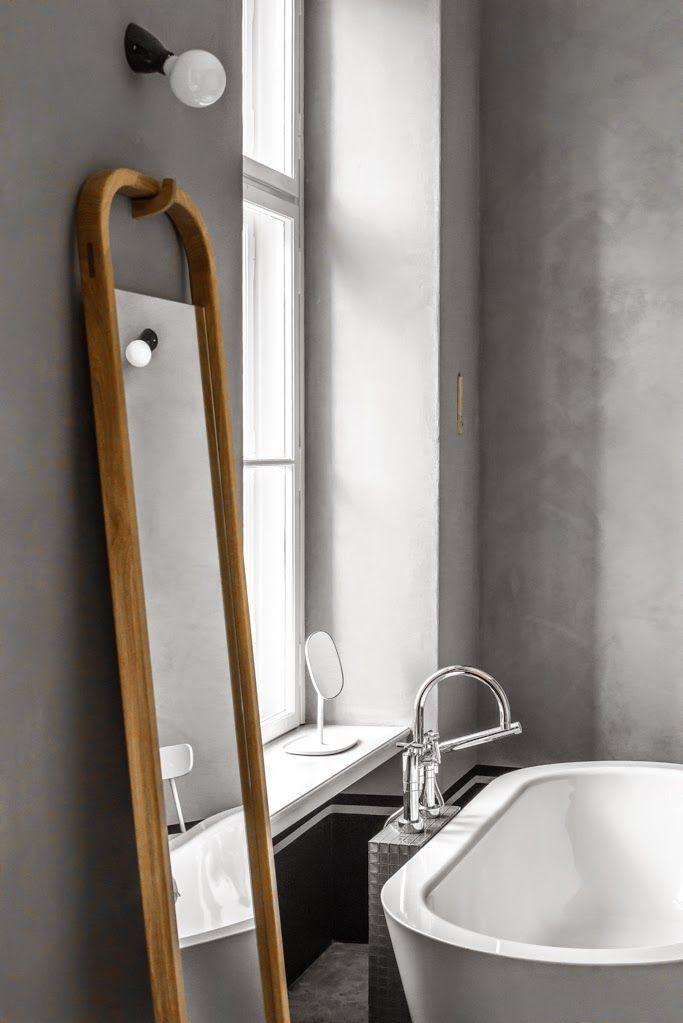 Berlin / Une salle de bain grise / ♡ Bathrooms ♡ Pinterest