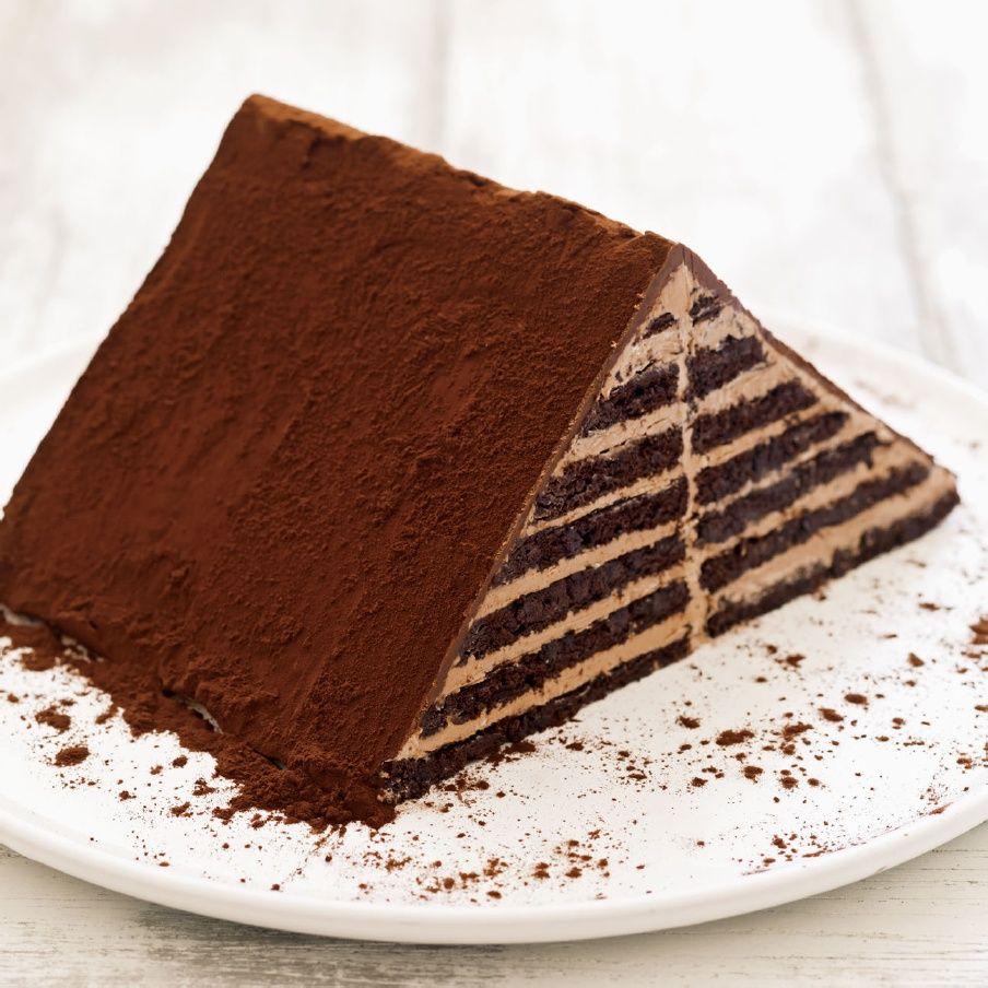 Pyramide Layer Cake   Cakes   Pinterest   Backideen