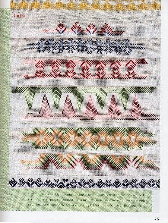 Huck Embroidery | Hand Embroidery | Pinterest | Bordado, Puntos y ...