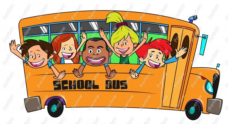 Nice Cartoon School Bus Clipart Images From Downloadclipart Org