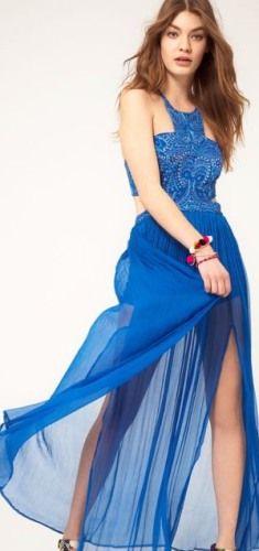 Платье спереди короткое сзади длинное 91