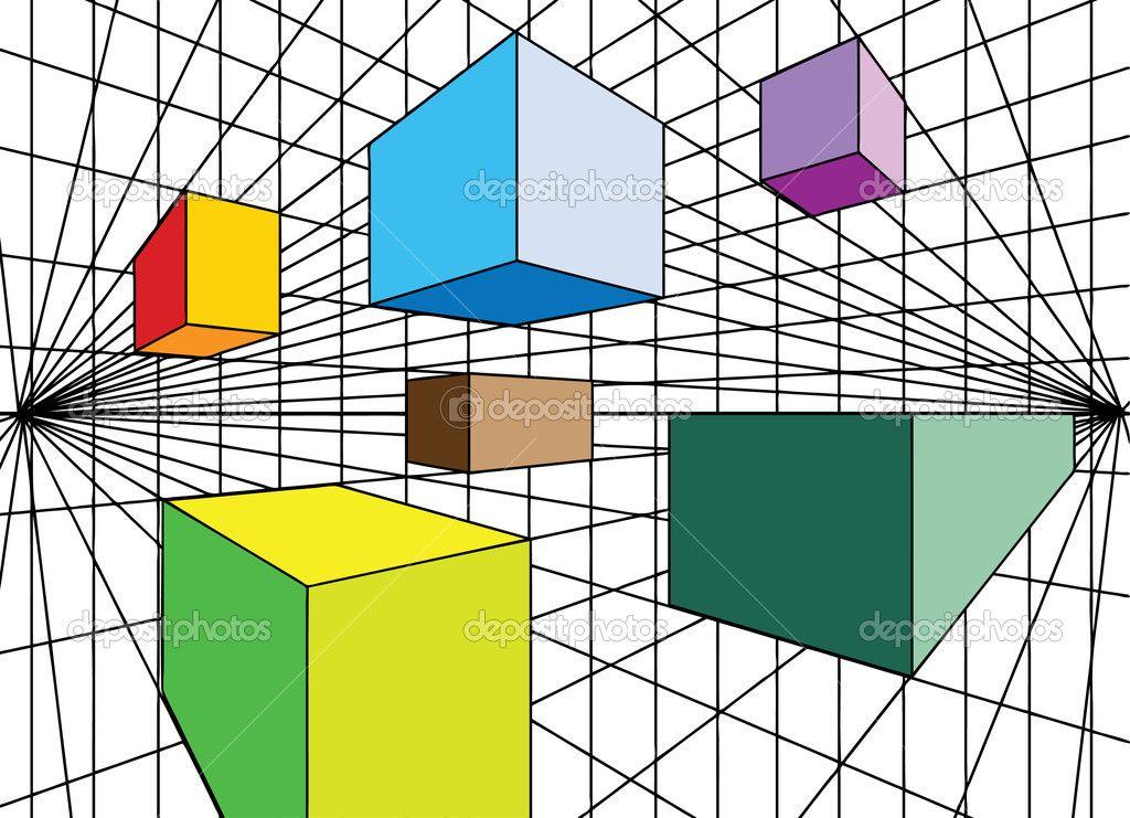 2 point perspective perspektive pinterest perspektive fluchtpunktperspektive und fluchtpunkt. Black Bedroom Furniture Sets. Home Design Ideas