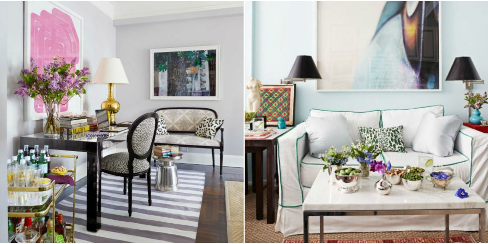 sneaky styling tricks for a small living room small living