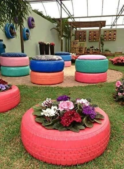 26 Trendy Diy Outdoor Furniture Tiresdiy