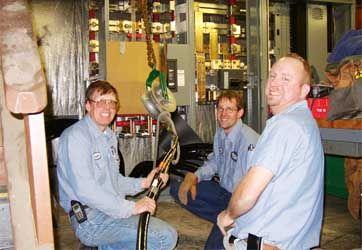 Friendly Industrial Electrical Team