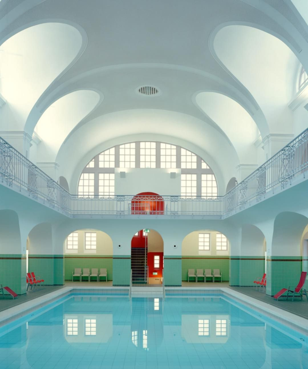 Stadt Bad Is A Public Swimming Pool In Gotha, Germany Designed By Veauthier  Architects. #thecoolhunter #wesanderson