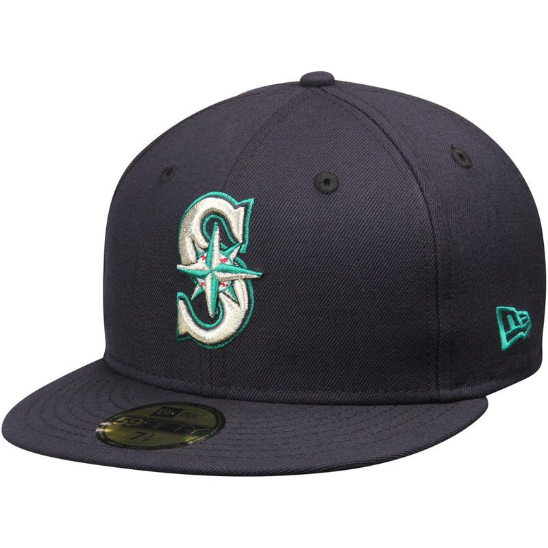 Robinson Cano Seattle Mariners New Era Name   Number 59FIFTY Fitted Hat -  Navy 9e5ba4760a01