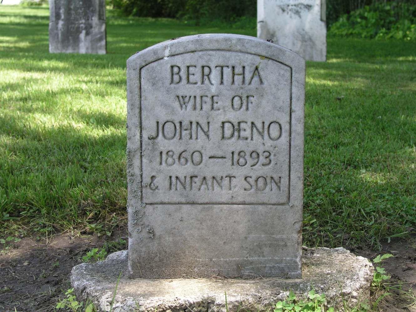 Bertha deno 1860 1893 find a grave photos family