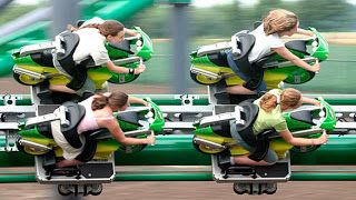 Ride with your online biker friends to amusement parks to have childish fun