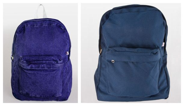 American Apparel School Backpacks from NYFifth