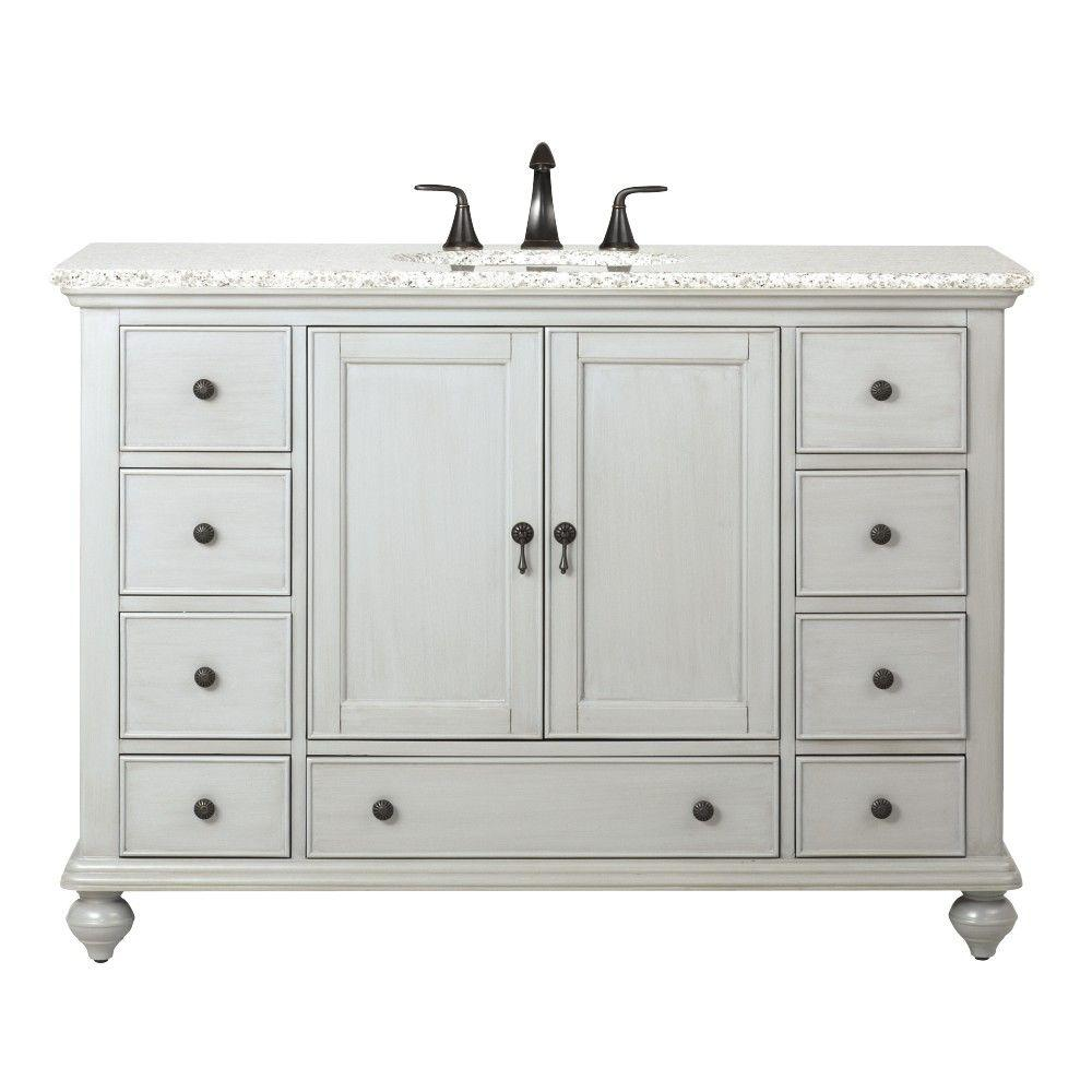 Home Decorators Collection Newport 49 In W X 21 1 2 In D Bath
