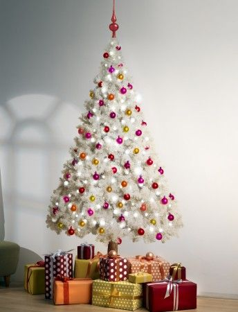LED lit Christmas tree - Available in 6 ft or 8 ft and includes