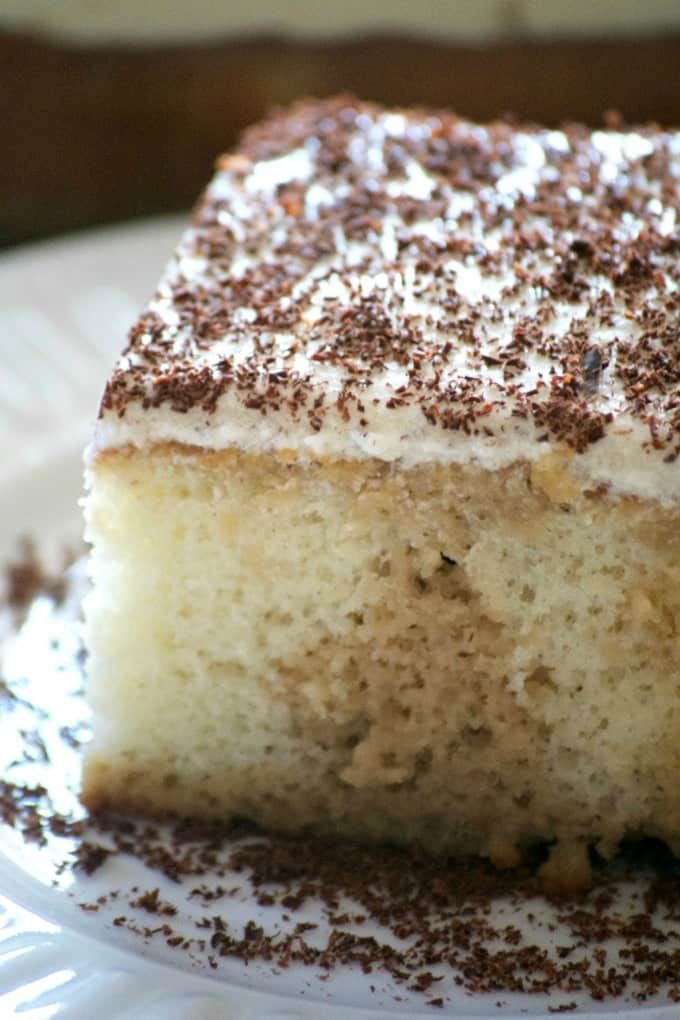 Cinnamon Roll Layer Cake - 365 Days of Baking and More #cinnamonrollpokecake