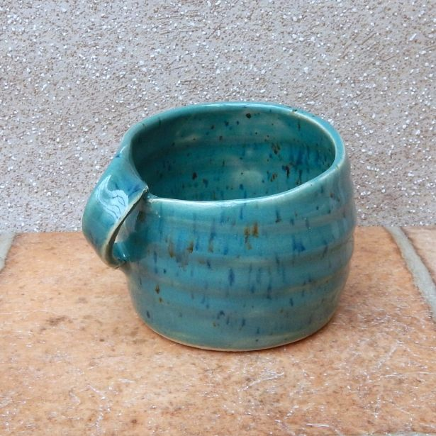 Left Handed Hand Coffee Tea Mug Cup Lefthanded Wheel Thrown Stoneware Pottery by Caractacus Pots on Gourmly