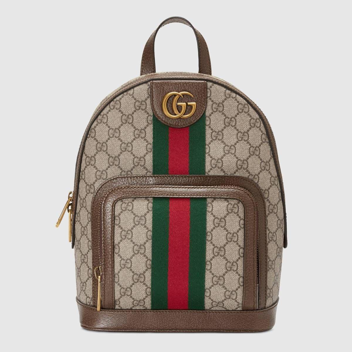 fb5abcdbe2993 Compra ahora Mochila Ophidia Pequeña con GG de Gucci.