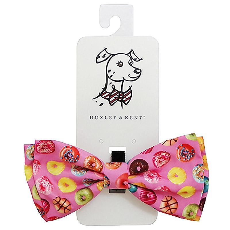 6605b18728fe Huxley & Kent Dog Bow Tie Collar Attachment - Donut Shoppe at BaxterBoo.com