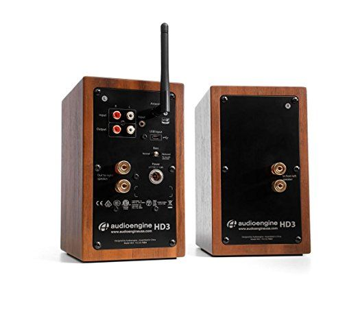 Amazon.com: Audioengine HD3 Powered Bookshelf Speakers (Pair) Walnut: Home Audio & Theater | Bookshelf speakers. Bookshelves. Audio