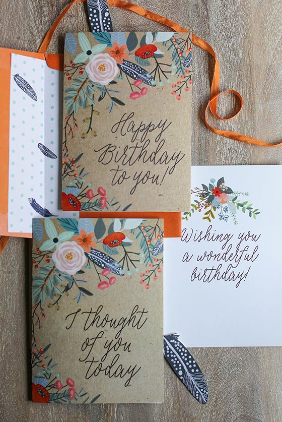 Best 25 Free Birthday Card Ideas On Pinterest Printable