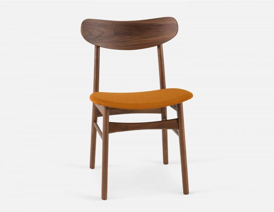 Houston Dining Chair Orange With Images Dining Chairs