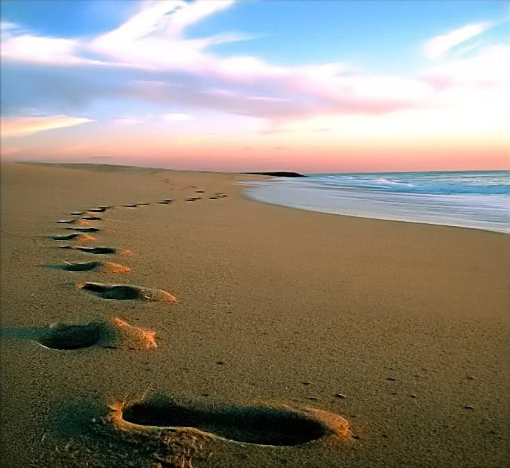 Image result for walk away footsteps