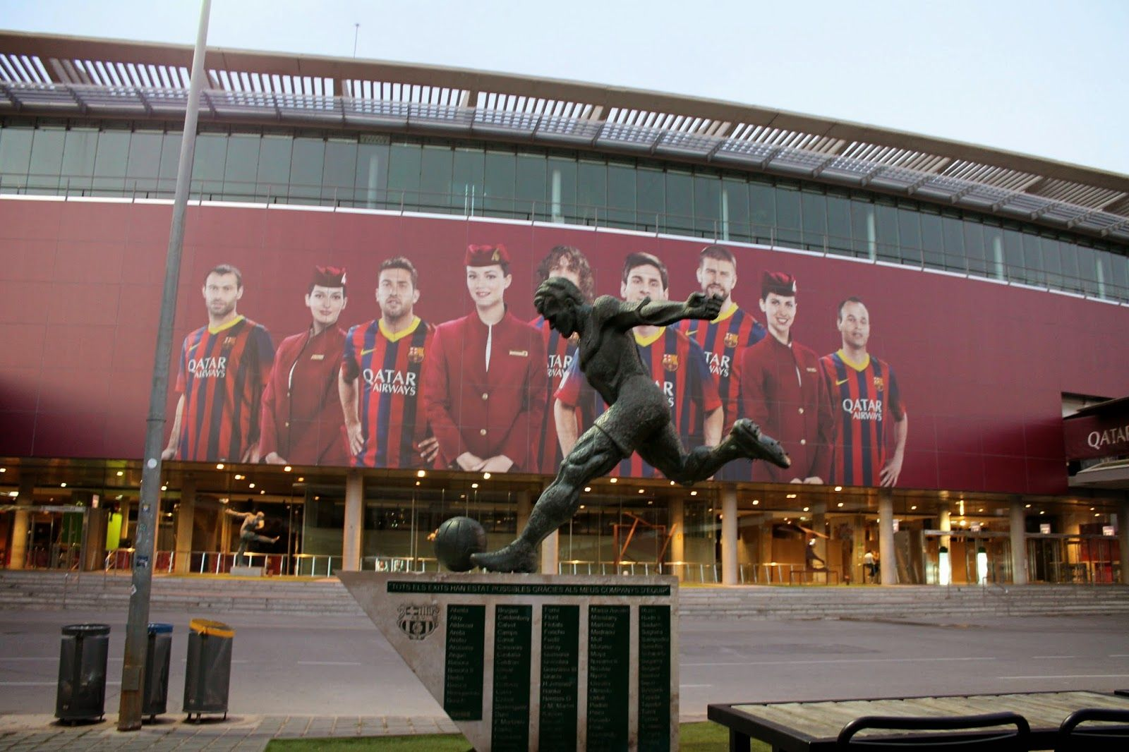 Camp Nou Really cool just to walk around.