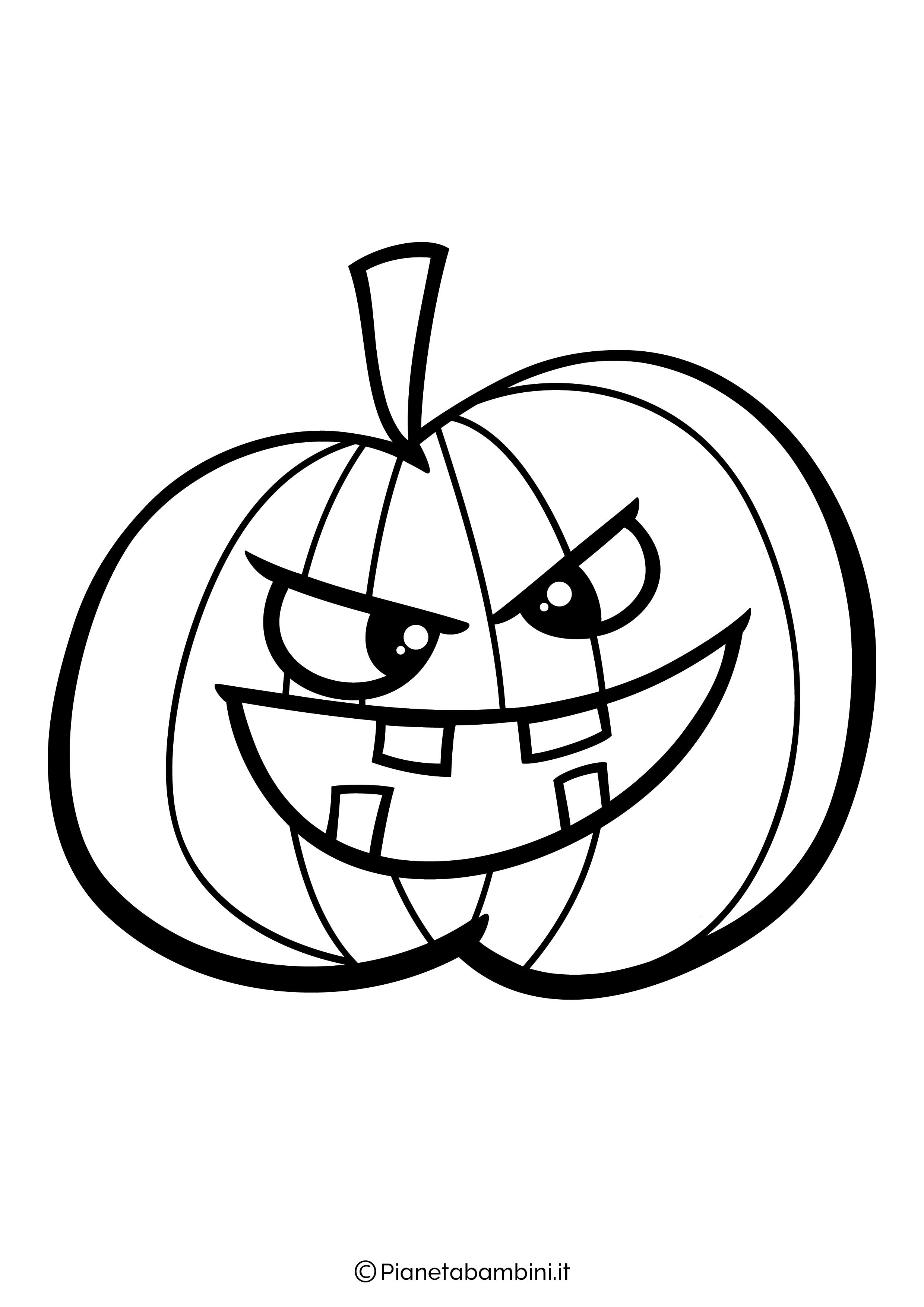 60 Disegni Di Zucche Di Halloween Da Colorare Pianetabambini It Disegni Di Halloween Zucca Halloween Halloween