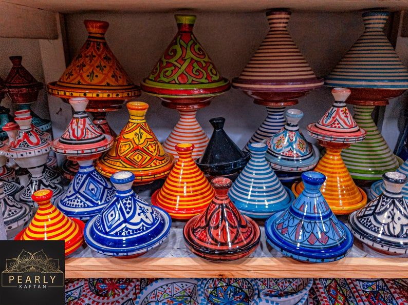 Moroccan Tajine for cooking unglazed 20/% off.