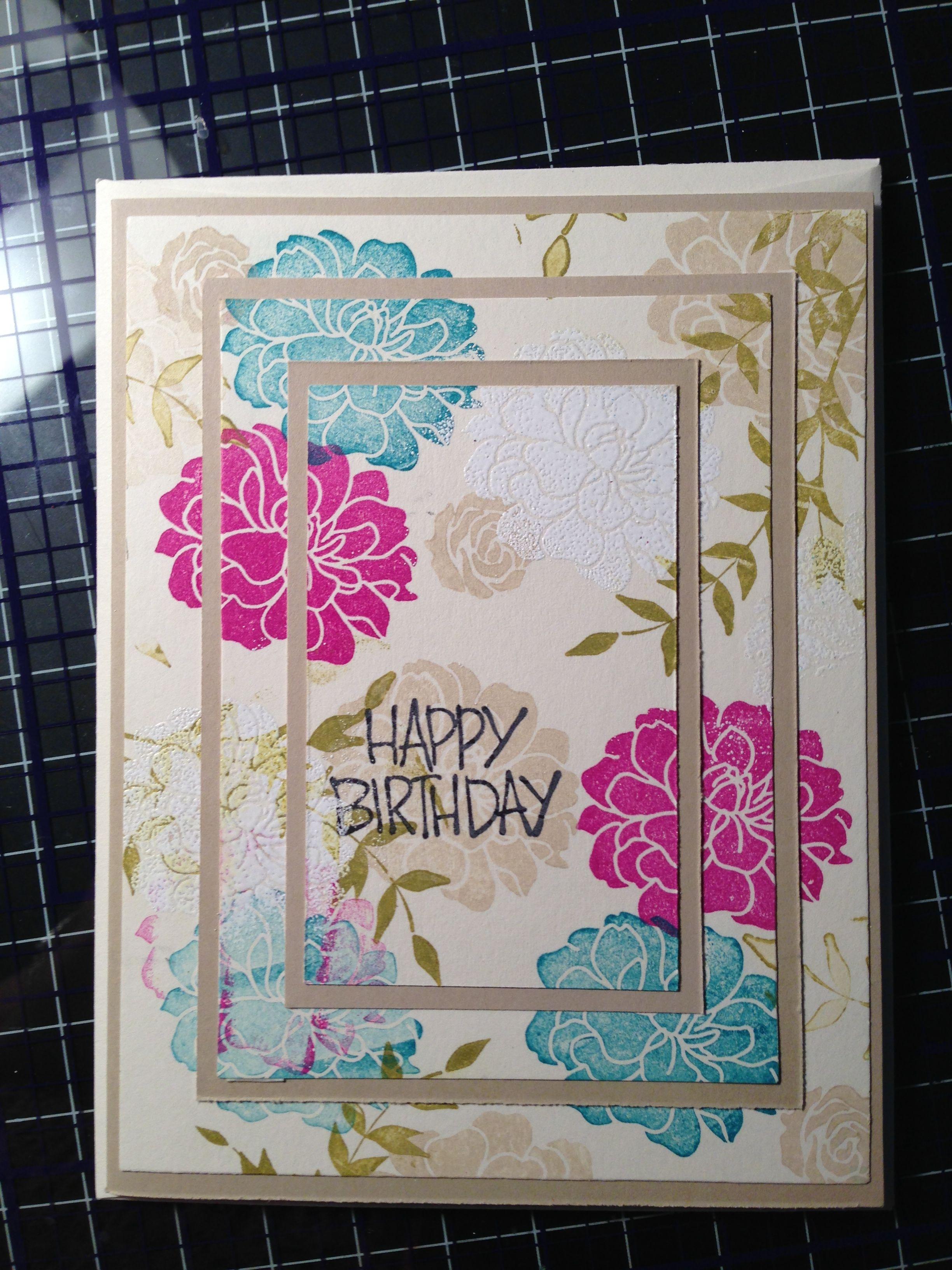 Happy Birthday Homemade Greeting Cards Pinterest