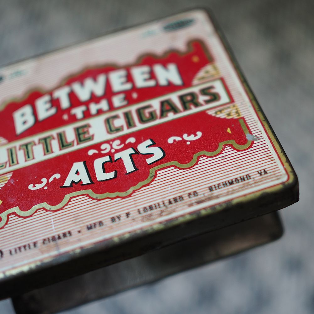 Cigar Tin from Brooklyn, USA // [homeware, vintage, vintage home ...