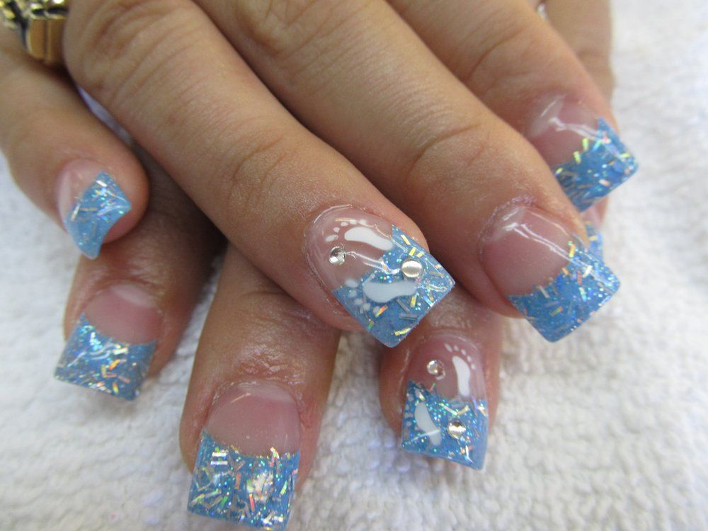 Baby Shower Nail Design Yelp Nails Baby Shower Nails Baby