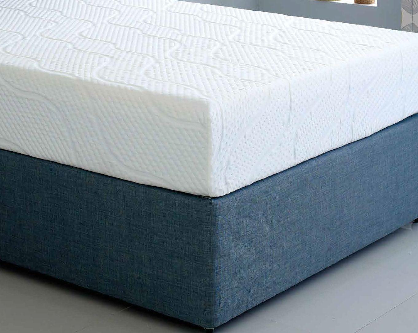 hybrid cool blue 17 5cm reflex memory foam mattress foam mattress