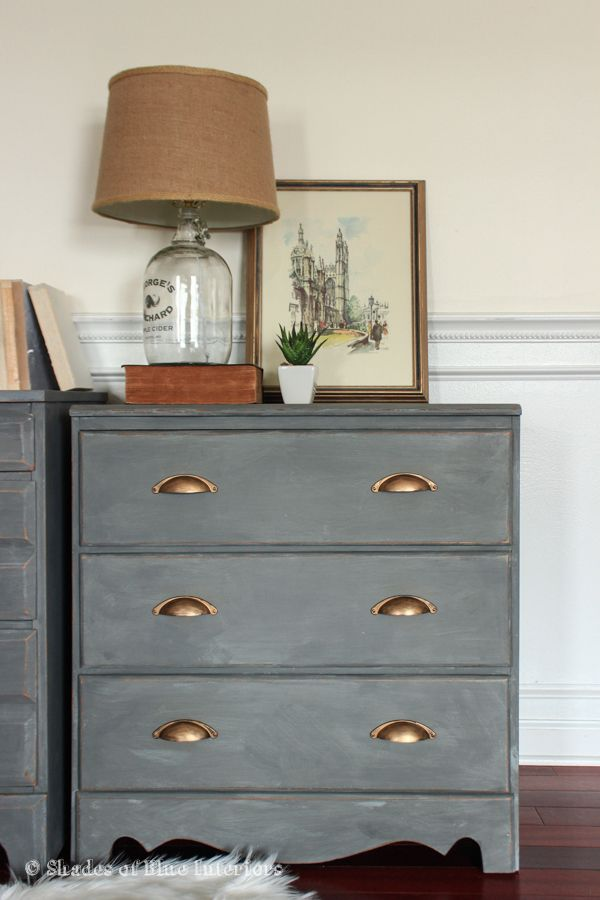 Best Makeover Monday A Pair Of Gray Nightstands Gray 400 x 300