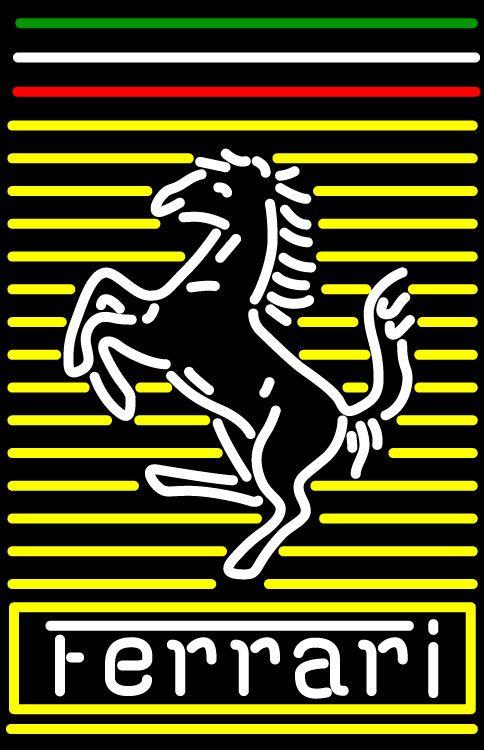 Ferrari Prancing Horse F1 Gt 355 Neon Sign