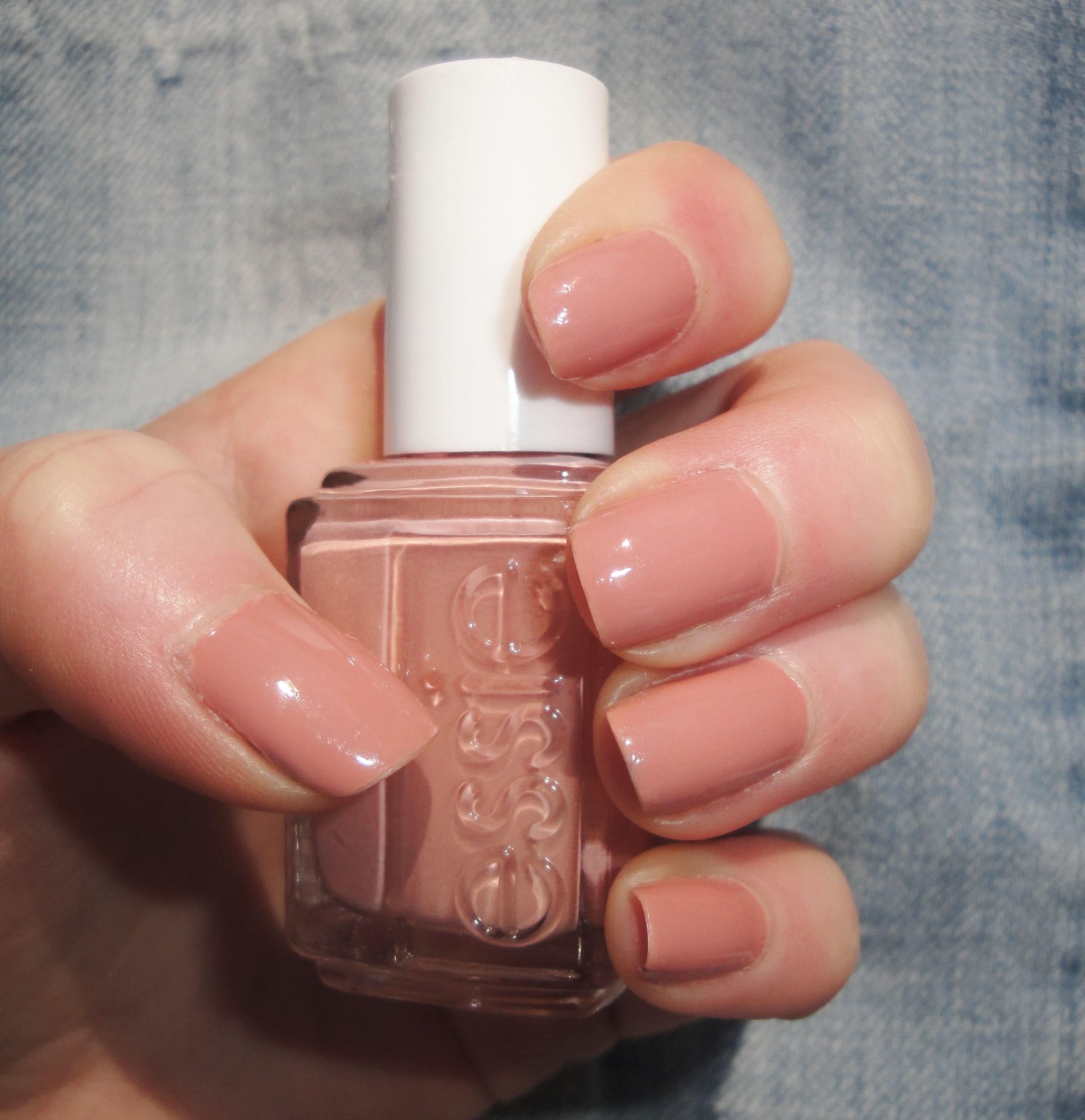 Essie - Eternal Optimist. Dusty nude pink nail polish. (my go-to ...