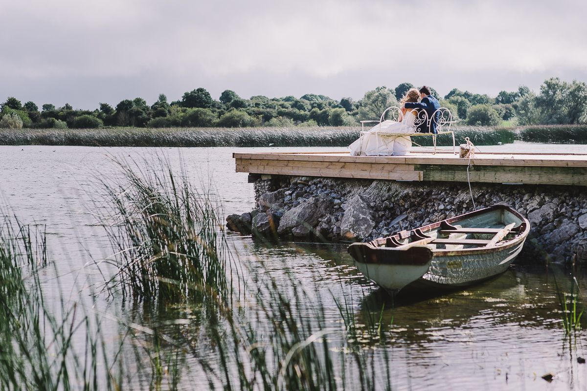 Forever together  #wedding #weddingday #special #forever #justmarried #mrandmrs #dress #bride #groom #lovebirds #bythelake #Nenagh #Tipperary #Ireland #Ashleypark #Ashleyparkhouse #BB #boat #lake