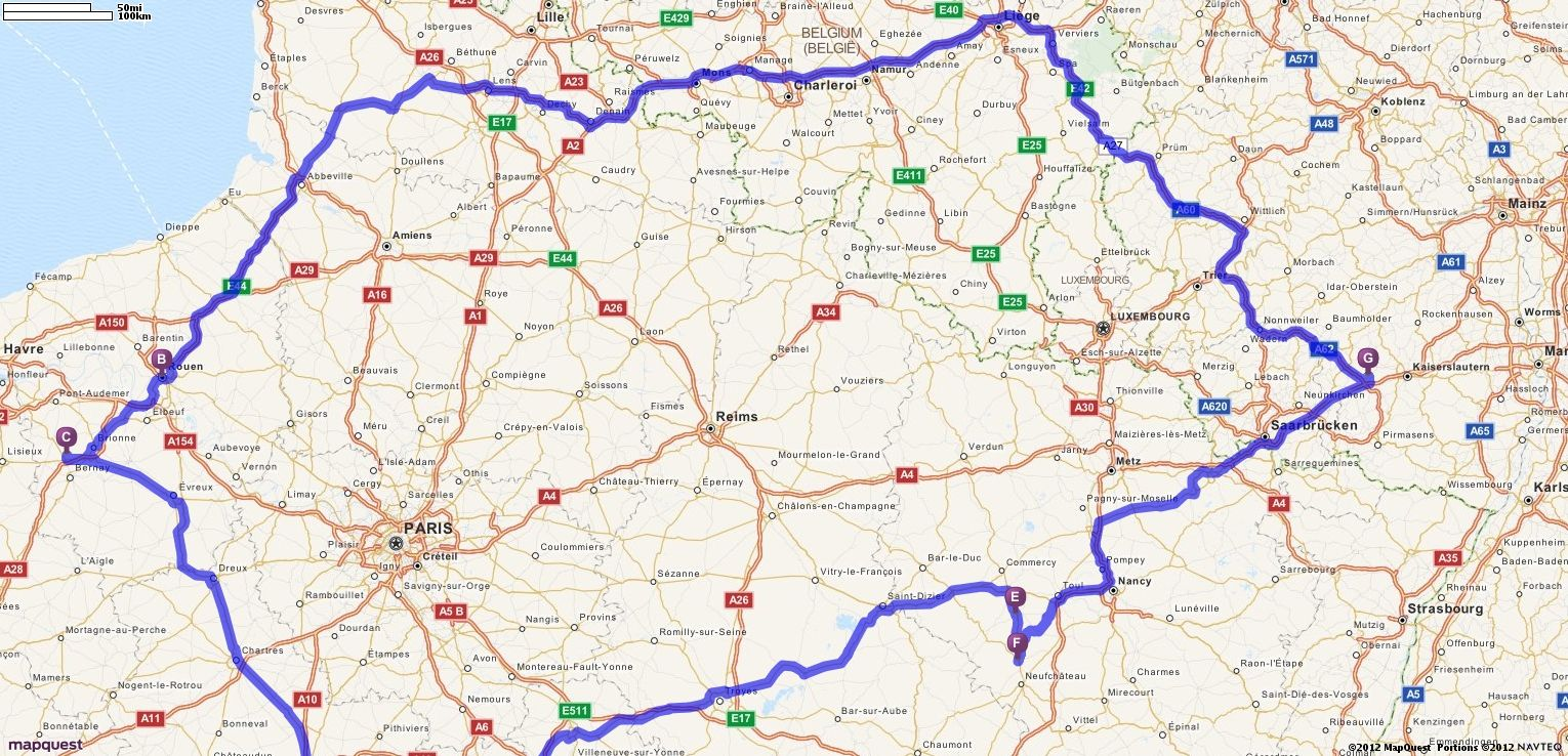 driving directions from ramstein miesenbach germany to ramstein miesenbach germany