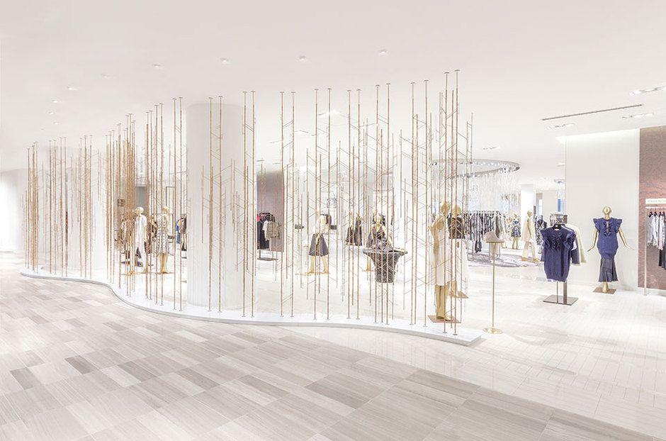 Saks Opens New Flagship Store In Toronto Design Retail Design