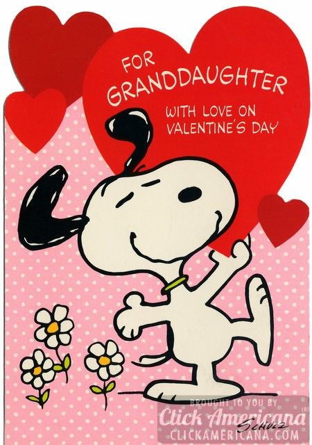 Peanuts Vintage Snoopy Valentines Day Cards Plus Woodstock