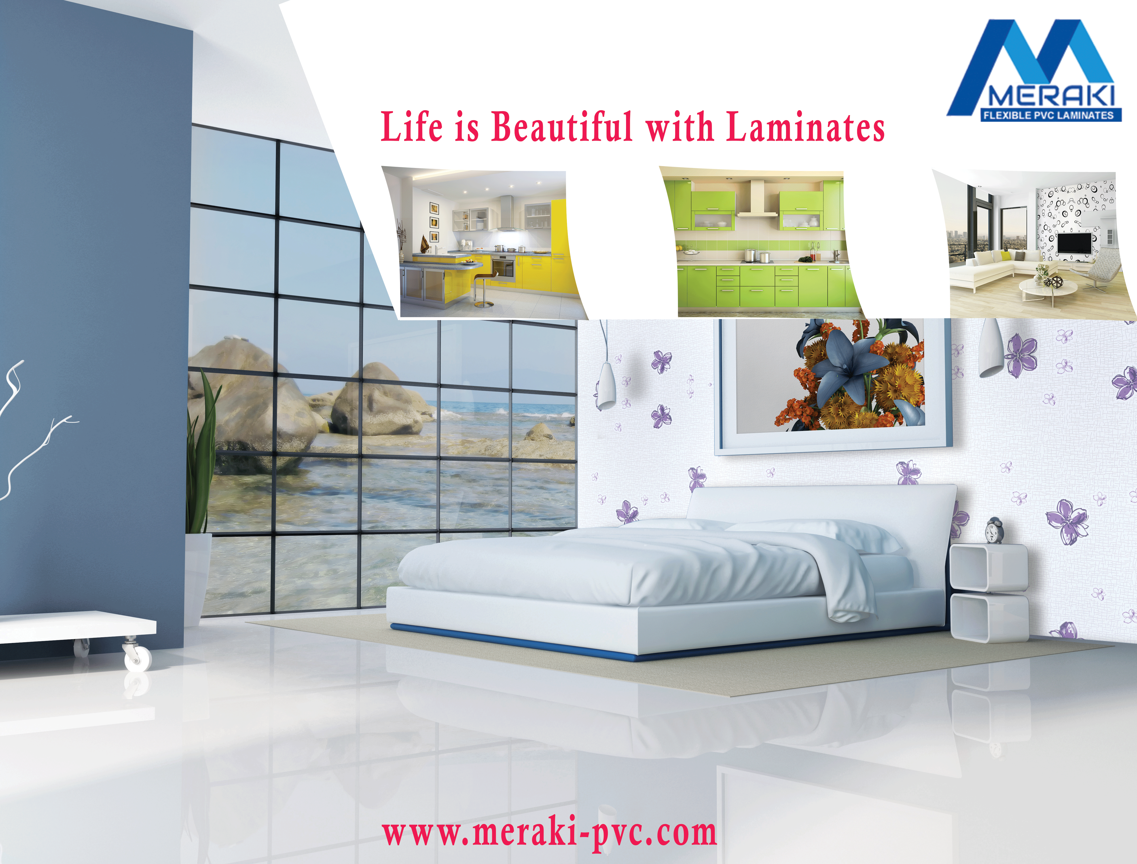 Life is beautiful with #Meraki Laminates #Laminates #InteriorIdea ...
